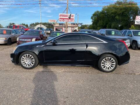 2011 Cadillac CTS for sale at Affordable 4 All Auto Sales in Elk River MN