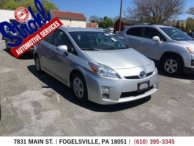 2010 Toyota Prius for sale at Strohl Automotive Services in Fogelsville PA
