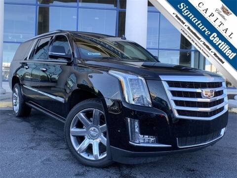 2018 Cadillac Escalade ESV for sale at Southern Auto Solutions - Capital Cadillac in Marietta GA