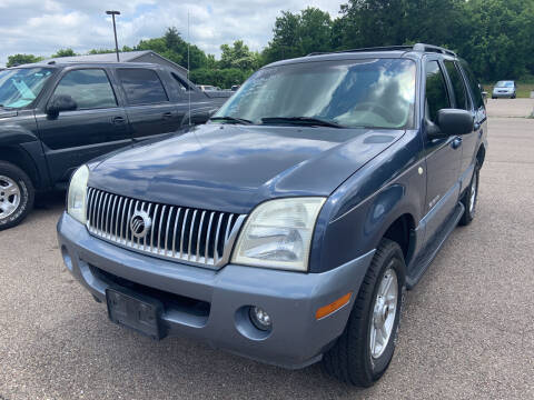 2002 Mercury Mountaineer for sale at Blake Hollenbeck Auto Sales in Greenville MI