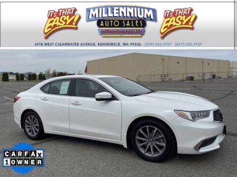 2018 Acura TLX for sale at Millennium Auto Sales in Kennewick WA