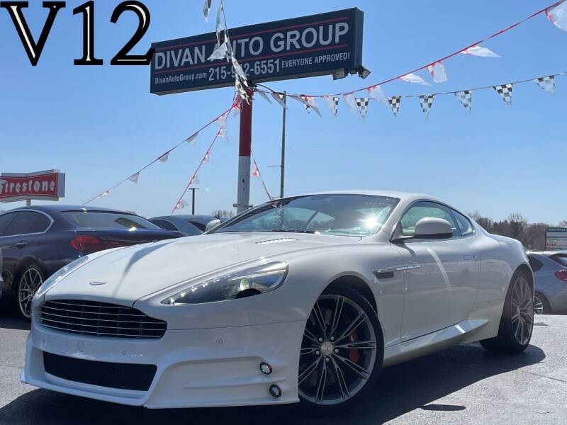 2013 Aston Martin DB9 for sale at Divan Auto Group in Feasterville PA