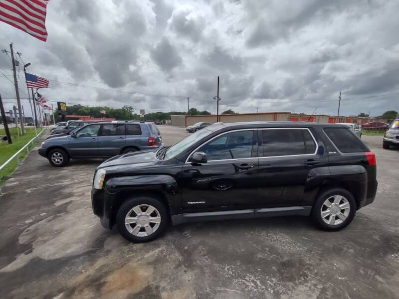 2012 GMC Terrain for sale at BIG 7 USED CARS INC in League City TX