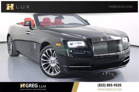 2018 Rolls-Royce Dawn for sale at HGREG LUX EXCLUSIVE MOTORCARS in Pompano Beach FL
