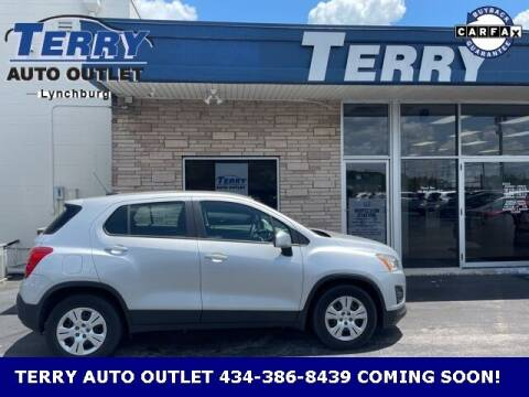 2015 Chevrolet Trax for sale at Terry Auto Outlet in Lynchburg VA