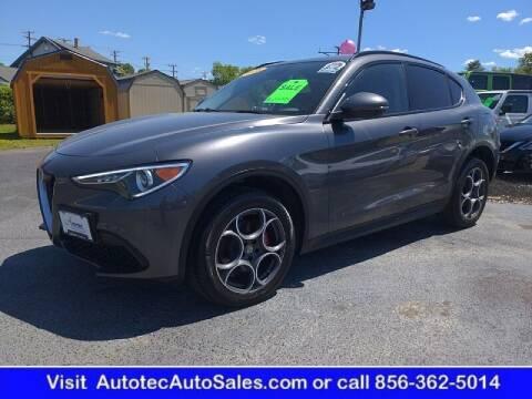 2018 Alfa Romeo Stelvio for sale at Autotec Auto Sales in Vineland NJ