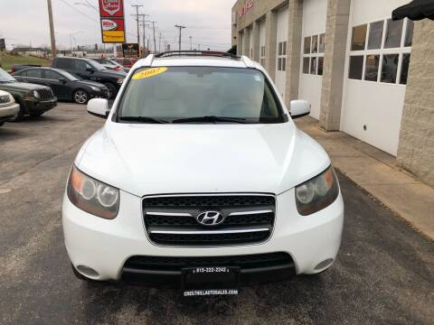 2007 Hyundai Santa Fe for sale at Cresthill Auto Sales Enterprises LTD in Crest Hill IL
