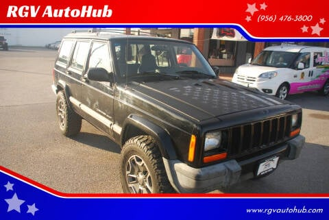 1999 Jeep Cherokee for sale at RGV AutoHub in Harlingen TX