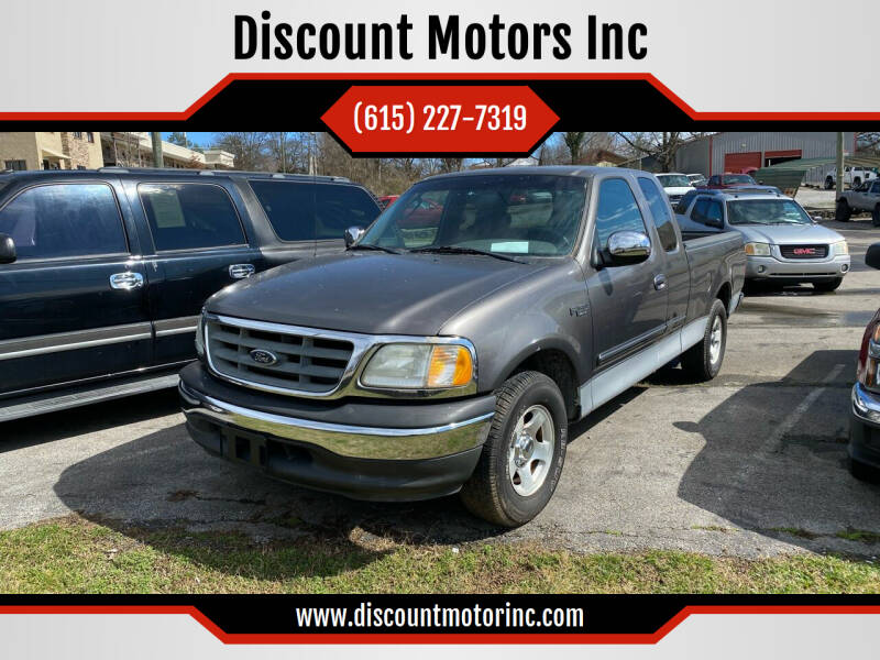 2002 Ford F-150 for sale at Discount Motors Inc in Nashville TN