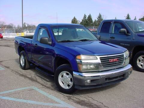 2006 GMC Canyon for sale at VOA Auto Sales in Pontiac MI