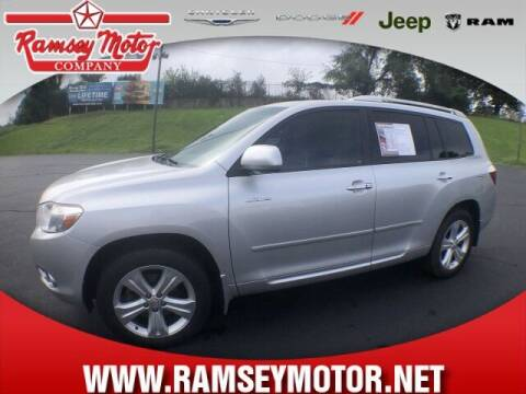 2010 Toyota Highlander for sale at RAMSEY MOTOR CO in Harrison AR