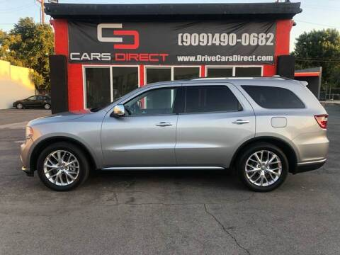 2014 Dodge Durango for sale at Cars Direct in Ontario CA