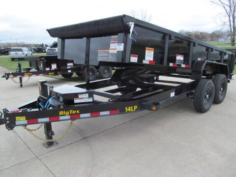 2022 Big Tex 16' DUMP TRAILER for sale at Flaherty's Hi-Tech Motorwerks in Albert Lea MN