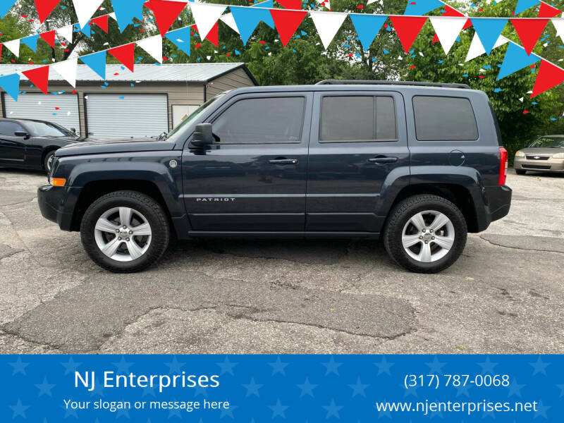 2014 Jeep Patriot for sale at NJ Enterprises in Indianapolis IN