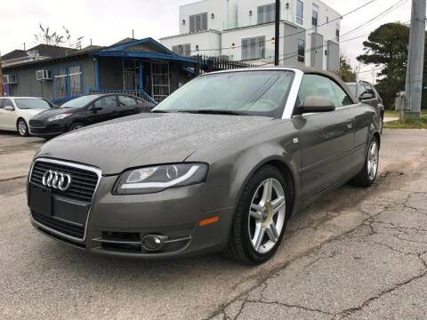 2008 Audi A4 for sale at Saipan Auto Sales in Houston TX