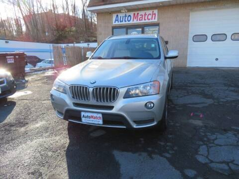 2011 BMW X3 for sale at Auto Match in Waterbury CT