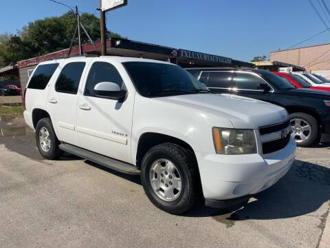 2007 Chevrolet Tahoe for sale at Texas Luxury Auto in Houston TX