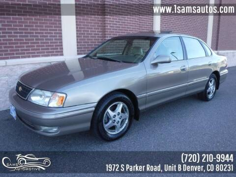 1999 Toyota Avalon for sale at SAM'S AUTOMOTIVE in Denver CO