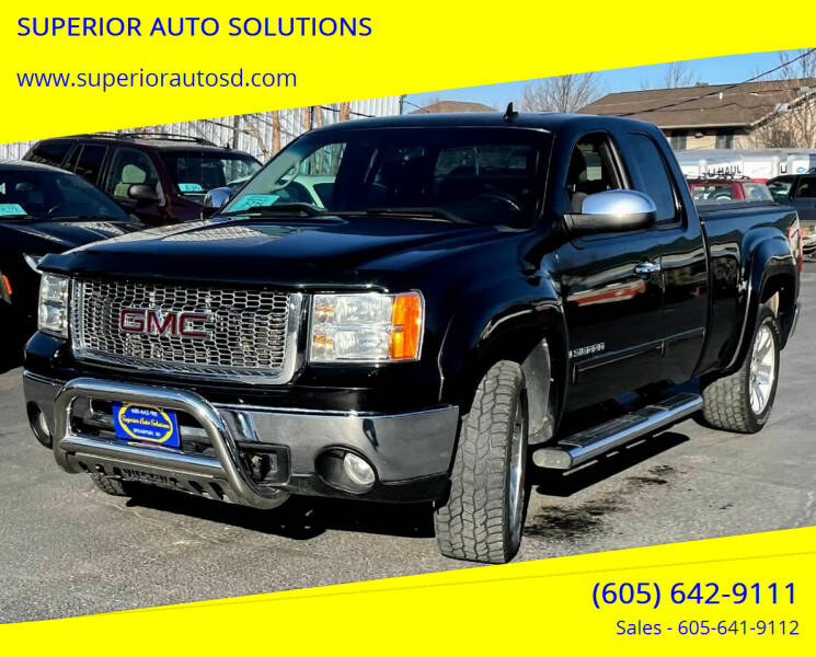 2009 GMC Sierra 1500 for sale at SUPERIOR AUTO SOLUTIONS in Spearfish SD