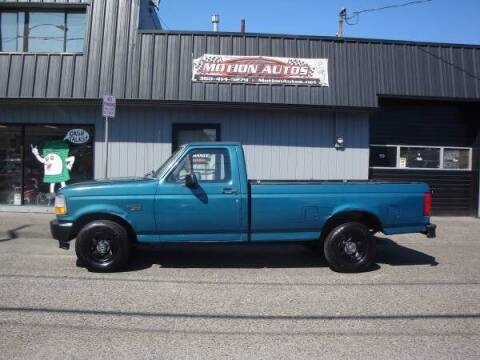 1996 Ford F-150 for sale at Motion Autos in Longview WA