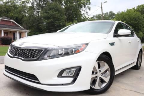2015 Kia Optima Hybrid for sale at Cobb Luxury Cars in Marietta GA