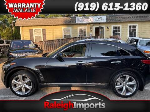 2013 Infiniti FX50 for sale at Raleigh Imports in Raleigh NC
