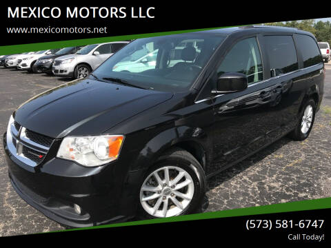 2019 Dodge Grand Caravan for sale at MEXICO MOTORS LLC in Mexico MO