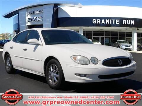 2006 Buick LaCrosse for sale at GRANITE RUN PRE OWNED CAR AND TRUCK OUTLET in Media PA