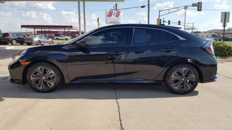 2019 Honda Civic for sale at S & S Sports and Imports in Newton KS