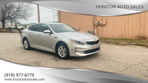 2017 Kia Optima for sale at Horizon Auto Sales in Raleigh NC