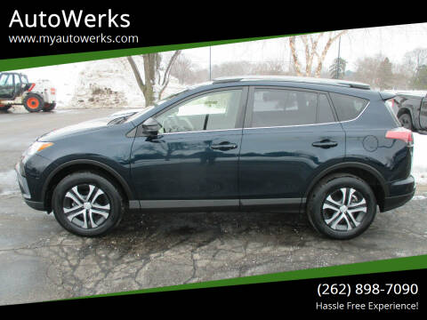 2017 Toyota RAV4 for sale at AutoWerks in Sturtevant WI