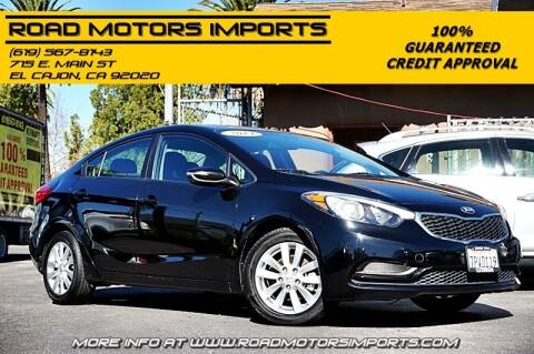 2014 Kia Forte for sale at Road Motors Imports in El Cajon CA