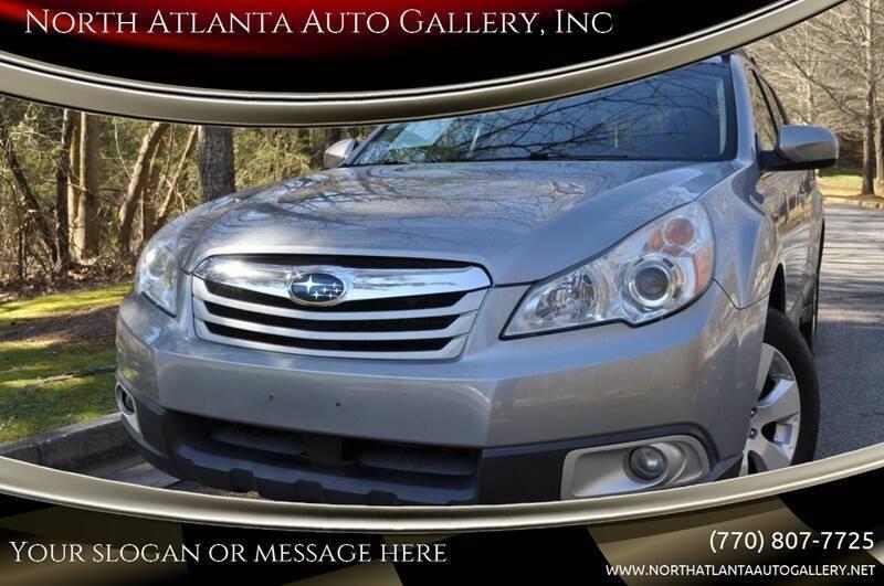 2010 Subaru Outback for sale at North Atlanta Auto Gallery, Inc in Alpharetta GA