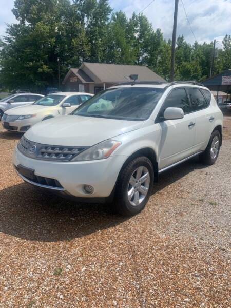 2007 Nissan Murano for sale at Scarletts Cars in Camden TN