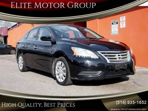 2015 Nissan Sentra for sale at Elite Motor Group in Farmingdale NY