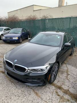 2017 BMW 5 Series for sale at BEACH AUTO GROUP INC in Fishkill NY