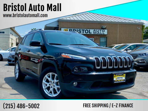 2017 Jeep Cherokee for sale at Bristol Auto Mall in Levittown PA