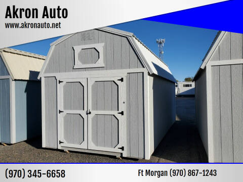 2021 Cumberland Lofted Barn for sale at Akron Auto in Akron CO