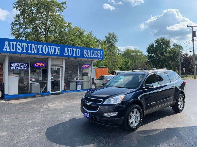 2011 Chevrolet Traverse for sale at Austintown Auto Sales LLC in Austintown OH