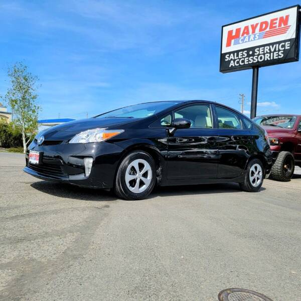 2014 Toyota Prius for sale at Hayden Cars in Coeur D Alene ID