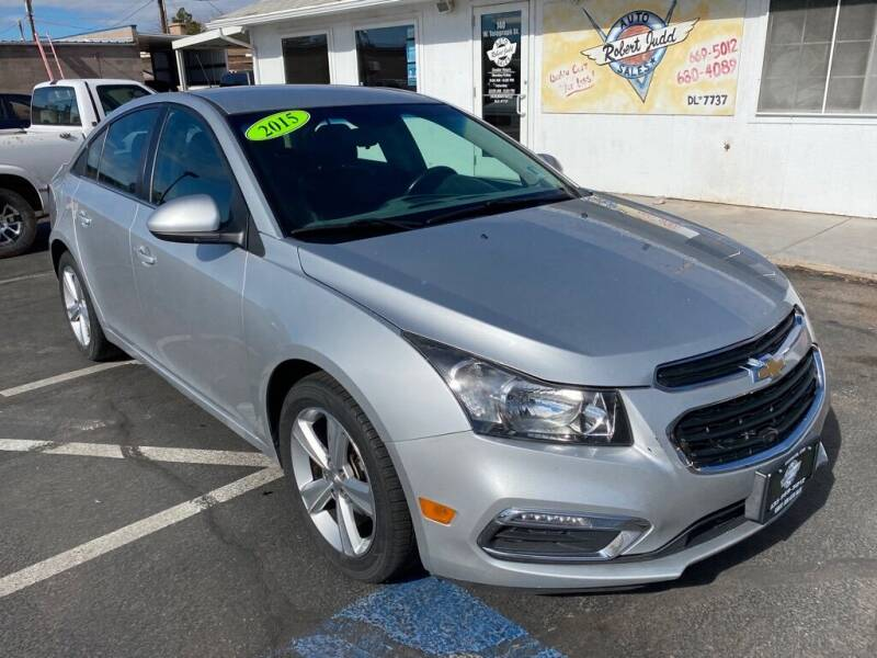 2015 Chevrolet Cruze for sale at Robert Judd Auto Sales in Washington UT
