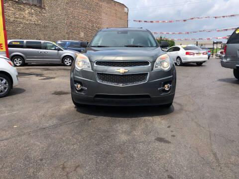 2013 Chevrolet Equinox for sale at RON'S AUTO SALES INC in Cicero IL