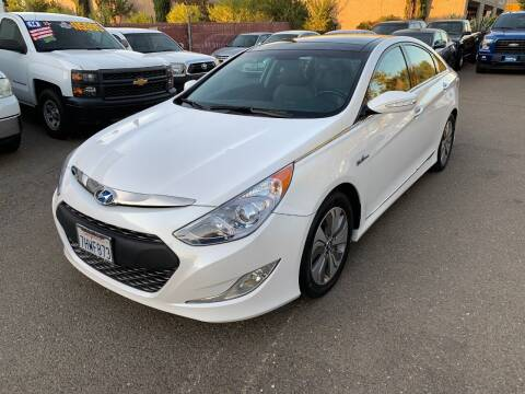 2015 Hyundai Sonata Hybrid for sale at C. H. Auto Sales in Citrus Heights CA