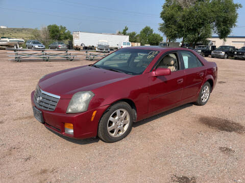 2005 Cadillac CTS for sale at PYRAMID MOTORS - Fountain Lot in Fountain CO