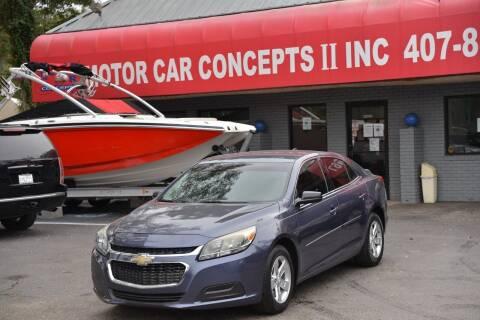 2014 Chevrolet Malibu for sale at Motor Car Concepts II - Kirkman Location in Orlando FL