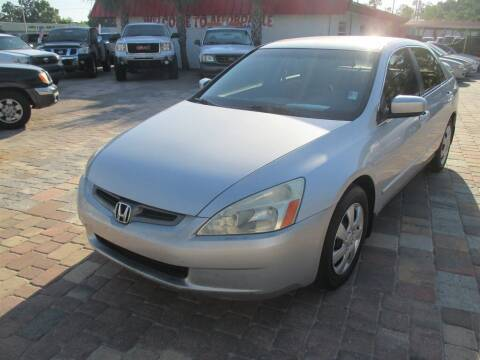 2003 Honda Accord for sale at Affordable Auto Motors in Jacksonville FL