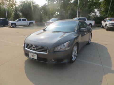 2012 Nissan Maxima for sale at Aztec Motors in Des Moines IA
