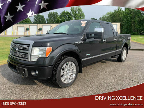 2012 Ford F-150 for sale at Driving Xcellence in Jeffersonville IN