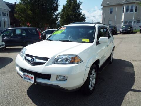 2004 Acura MDX for sale at FRIAS AUTO SALES LLC in Lawrence MA