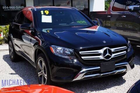 2019 Mercedes-Benz GLC for sale at Michael's Auto Sales Corp in Hollywood FL